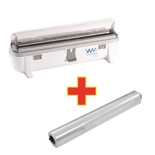 Special Offer Wrapmaster 4500 Dispenser and 3 x 300m Cling Film